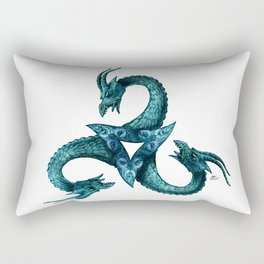 Dragon Triskell Rectangular Pillow