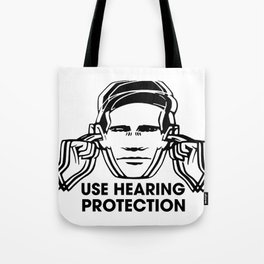 FAC 1 tribute - Factory Records - Use Hearing Protection Tote Bag