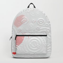 Elegant Red Hearts Backpack
