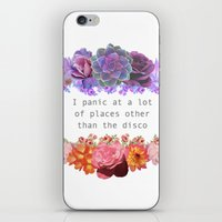 panic at the disco iPhone & iPod Skins featuring Panic! by Midnight Mania