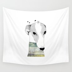 Mr. Galgo Dog Wall Tapestry