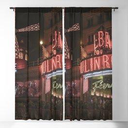 Vintage Cabaret Blackout Curtain