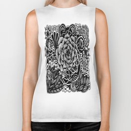 Zentangle Fishes! Fishes! Fishes! Biker Tank