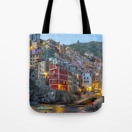 Riomaggiore of Cinque Terre Tote Bag