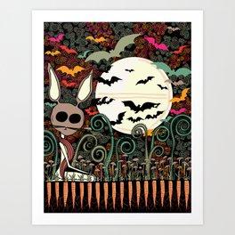 magic carrots Art Print