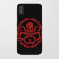 hydra iPhone & iPod Cases featuring Hail Hydra! by livinginamovie