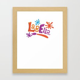 LabElla Framed Art Print