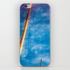 lines and sky iPhone & iPod Skin