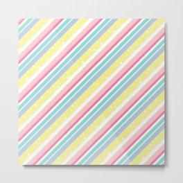 Party stripes Metal Print