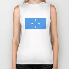 Micronesia country flag Biker Tank