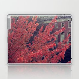 Library in Red Laptop & iPad Skin