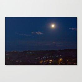 Canto notturno di un pastore errante dell'Abruzzo Canvas Print