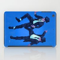 blues brothers iPad Cases featuring Blues Brothers by Dave Collinson
