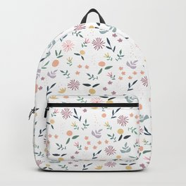 Citrus and Flowers Backpack
