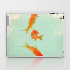 Goldfish in the sky Laptop & iPad Skin