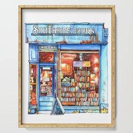 Edinburgh Bookstore Serving Tray