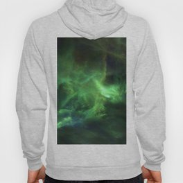Ghostly Green Smoke Hoody