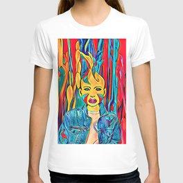 Splash colors T-shirt