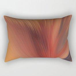 Vase and Spray Rectangular Pillow