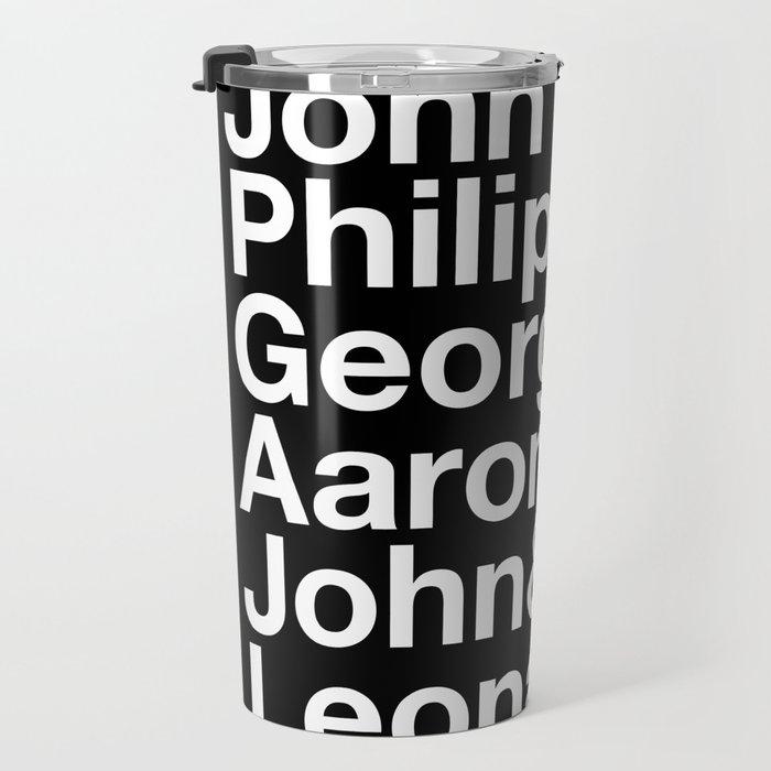 American Composers Travel Mug