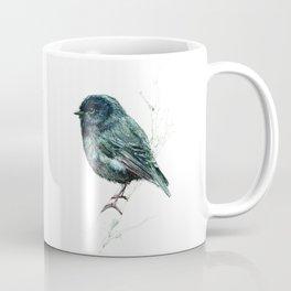 Black Robin Coffee Mug