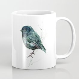 Black Robin Coffee Mug