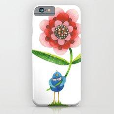 Red Wonder Flower iPhone 6s Slim Case