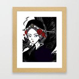 Dragon Lady Framed Art Print