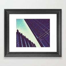 waddup gotham? Framed Art Print