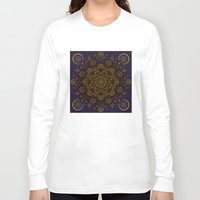 clockwork Long Sleeve T-shirts featuring Clockwork Compass by Orison Crafts