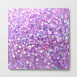 La La Lavender Metal Print