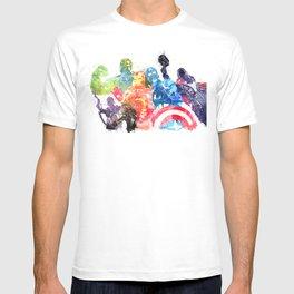 Iconic Comic Book Super Heroes ft. Iron Man  T-shirt