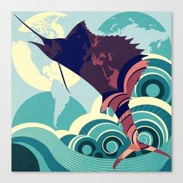 Seven Seas Explorer  Canvas Print