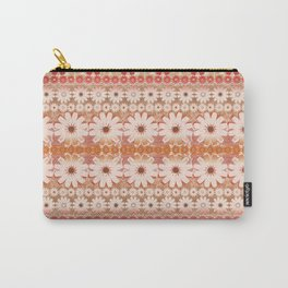 ombre floral in warm hues Carry-All Pouch