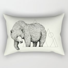 'Wildlife Analysis IV' Rectangular Pillow