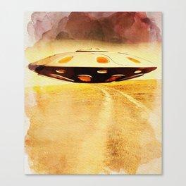 UFO Hill Canvas Print