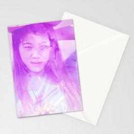 Galaxy Girl Stationery Cards