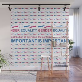 Gender Equality_04 by Victoria Deregus Wall Mural