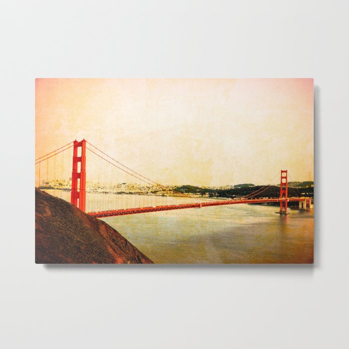 GOLDEN GATE BRIDGE - SAN FRANCISCO Metal Print