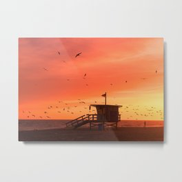 Zuma Tower Metal Print