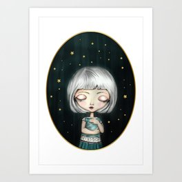 Little Dreamer Art Print