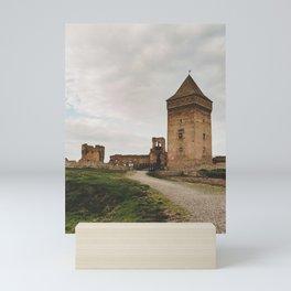 Fortress ruin Mini Art Print