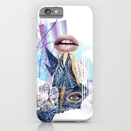 Zebra Kiss iPhone & iPod Case
