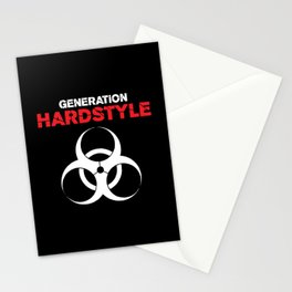 Generation Hardstyle Music Quote Stationery Cards
