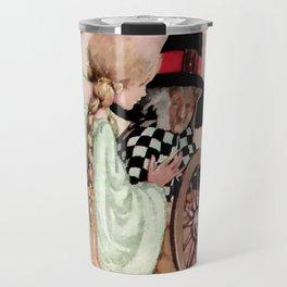 """Briar Rose"" Fairy Tale Art by Anne Anderson Travel Mug"