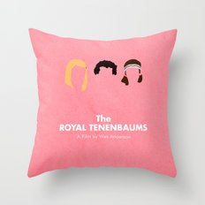The Royal Tenenbaums Throw Pillow