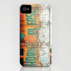 horn please! india truck sign Slim Case iPhone (4, 4s)