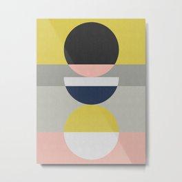 Geometric Art XVIII Metal Print