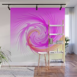 Feather Duster Wall Mural