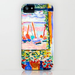 Henri Matisse Open Window iPhone Case